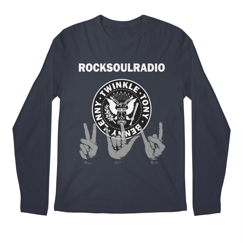 RSR logo Men's Regular Longsleeve T-Shirt by Twinkle's Artist Shop
