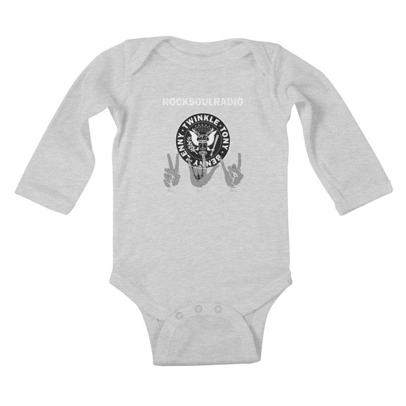RSR logo Kids Baby Longsleeve Bodysuit by Twinkle's Artist Shop
