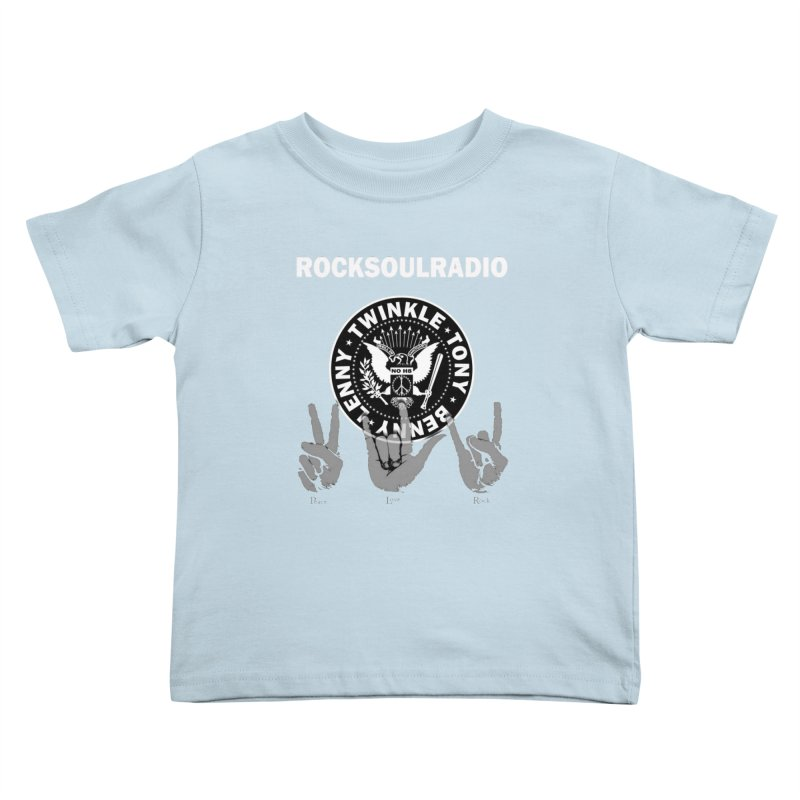RSR logo Kids Toddler T-Shirt by Twinkle's Artist Shop