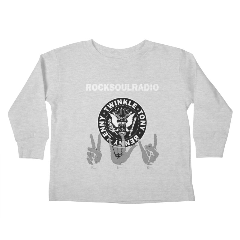 RSR logo Kids Toddler Longsleeve T-Shirt by Twinkle's Artist Shop