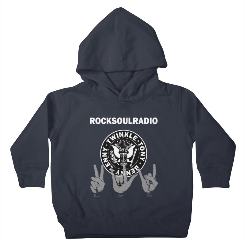 RSR logo Kids Toddler Pullover Hoody by Twinkle's Artist Shop