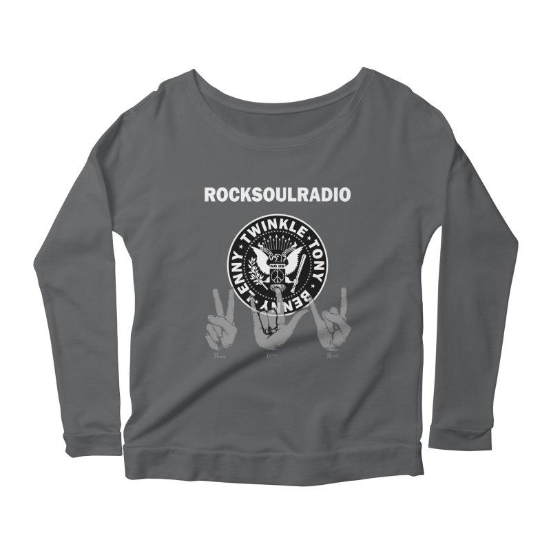 RSR logo Women's Scoop Neck Longsleeve T-Shirt by Twinkle's Artist Shop