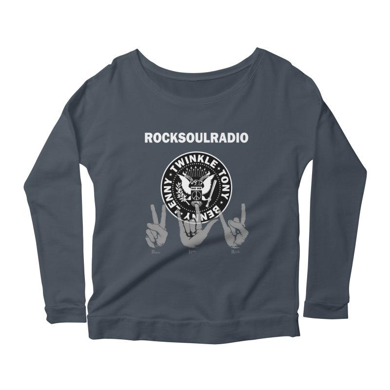 RSR logo Women's Scoop Neck Longsleeve T-Shirt by Twinkle's Artist Shop