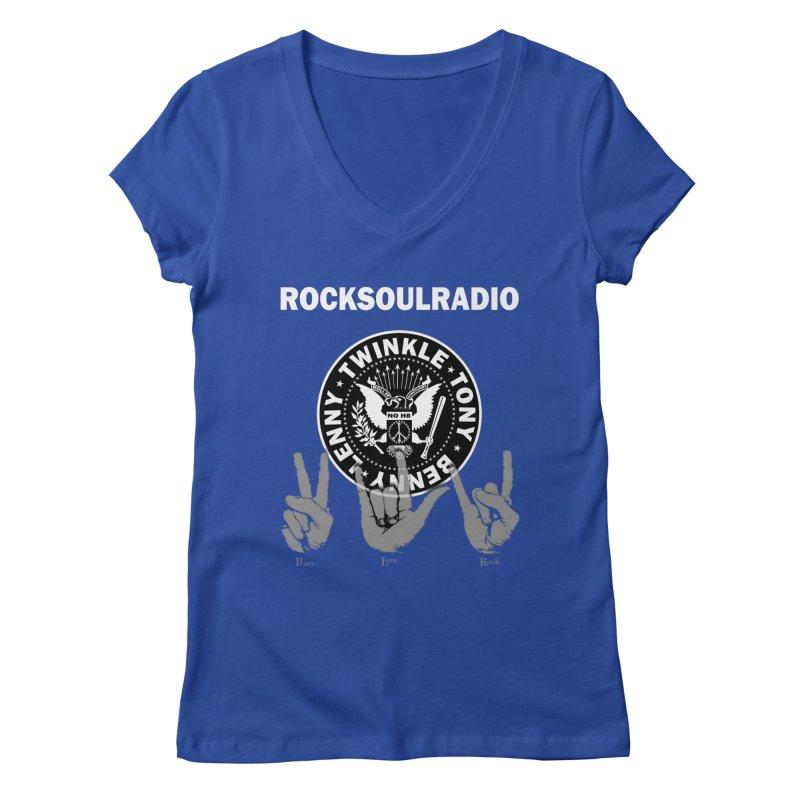 RSR logo Women's Regular V-Neck by Twinkle's Artist Shop
