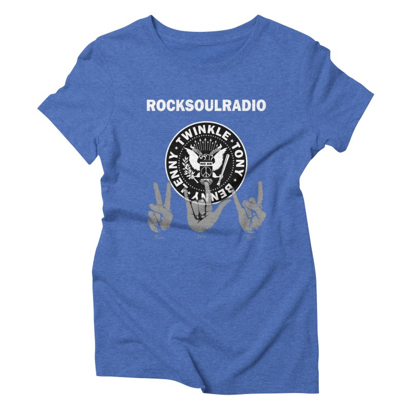 RSR logo Women's Triblend T-Shirt by Twinkle's Artist Shop