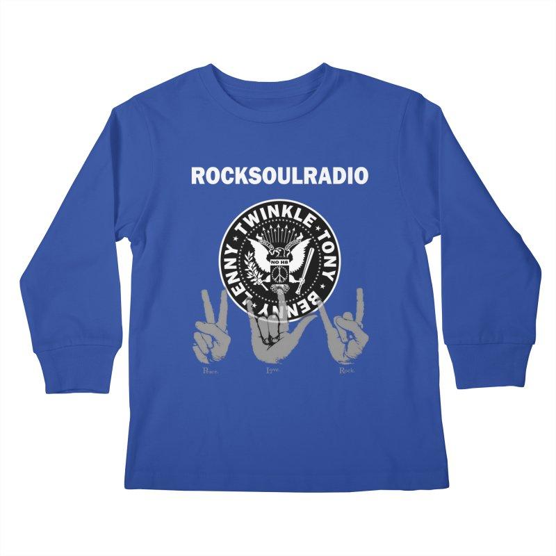 RSR logo Kids Longsleeve T-Shirt by Twinkle's Artist Shop
