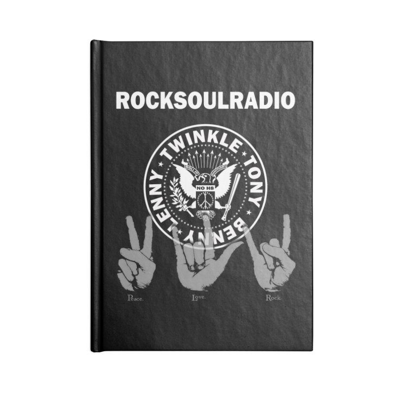 RSR logo Accessories Lined Journal Notebook by Twinkle's Artist Shop