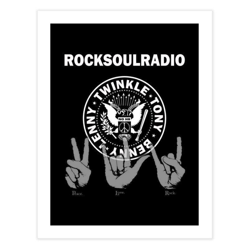 RSR logo Home Fine Art Print by Twinkle's Artist Shop