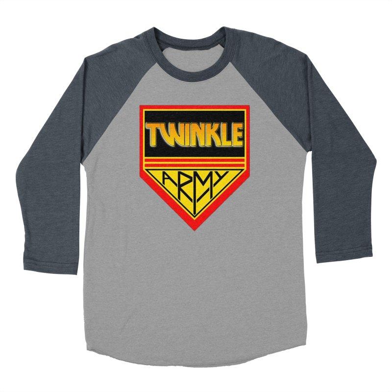 Twinkle Army Men's Baseball Triblend Longsleeve T-Shirt by Twinkle's Artist Shop