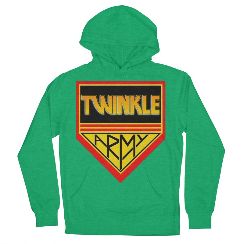 Twinkle Army Men's French Terry Pullover Hoody by Twinkle's Artist Shop