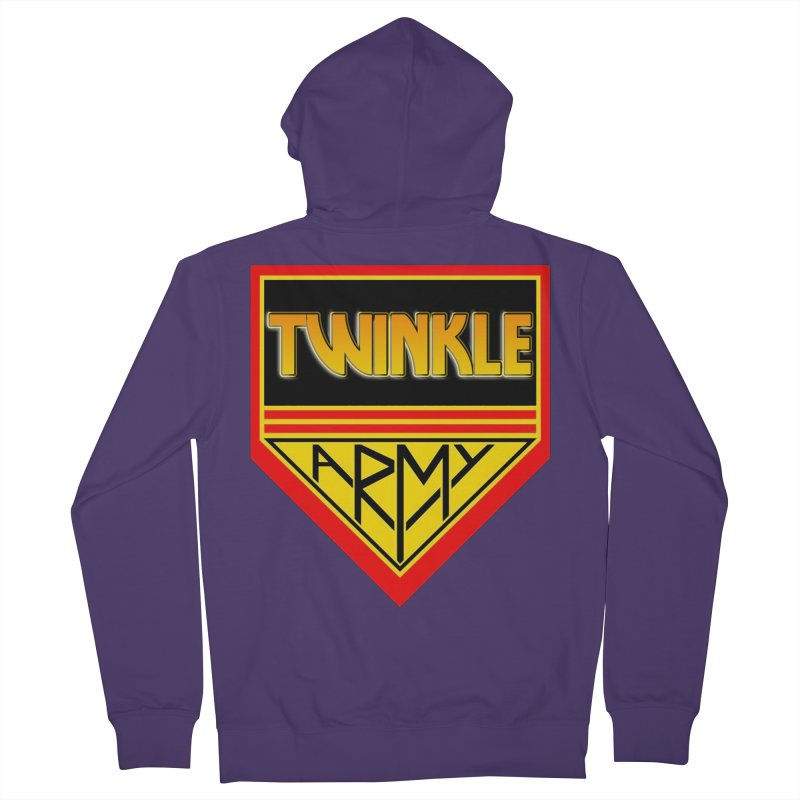 Twinkle Army Women's French Terry Zip-Up Hoody by Twinkle's Artist Shop