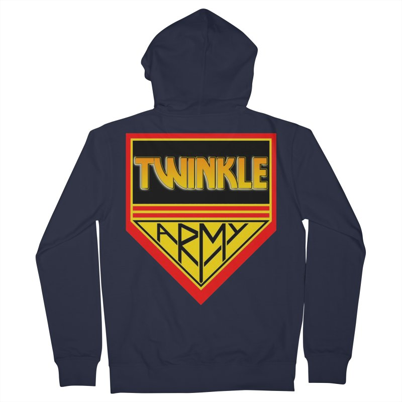 Twinkle Army Men's French Terry Zip-Up Hoody by Twinkle's Artist Shop
