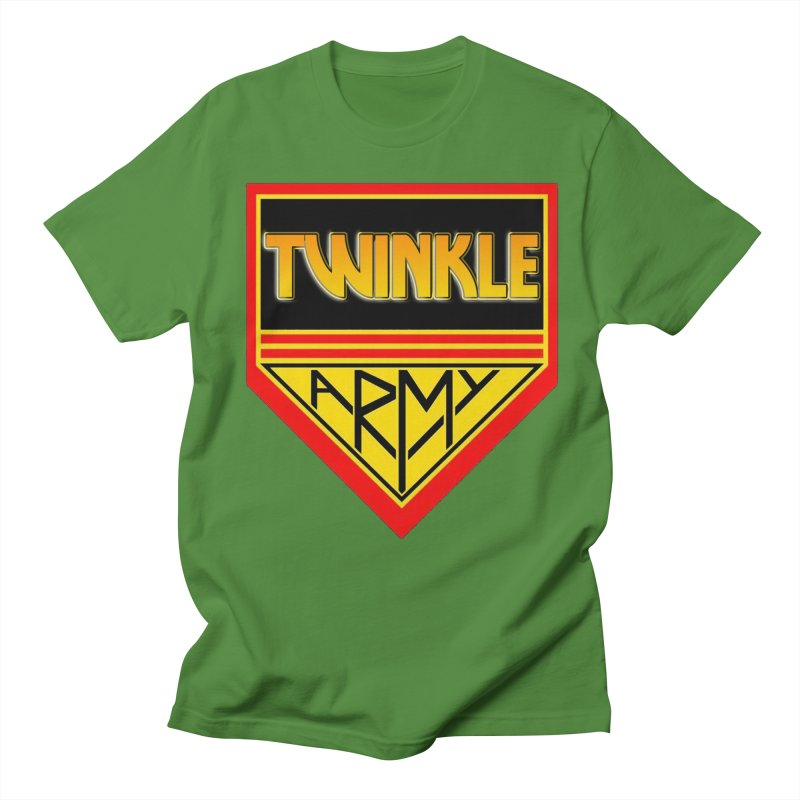 Twinkle Army Men's Regular T-Shirt by Twinkle's Artist Shop