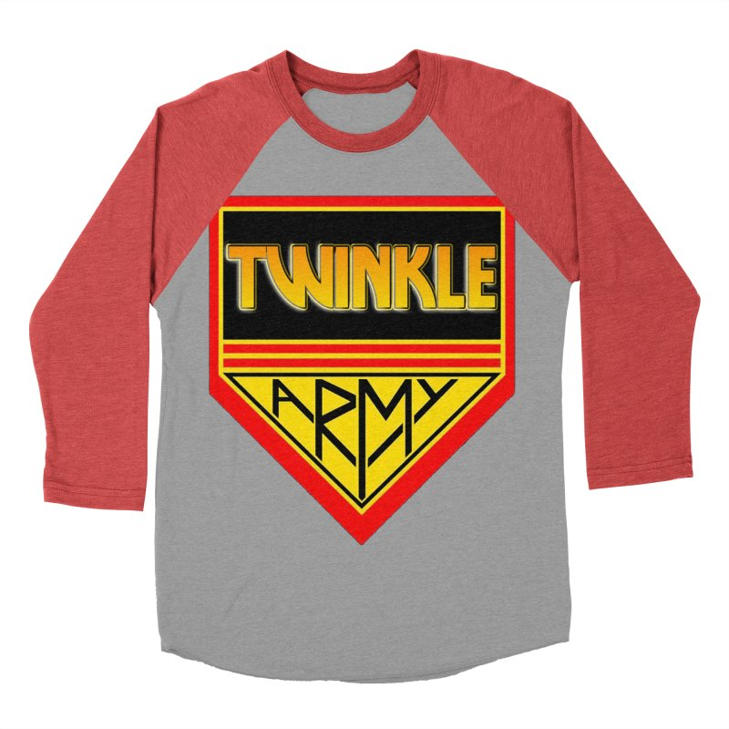 Twinkle Army Men's Baseball Triblend Longsleeve T-Shirt by Twinkle's Artist Shop