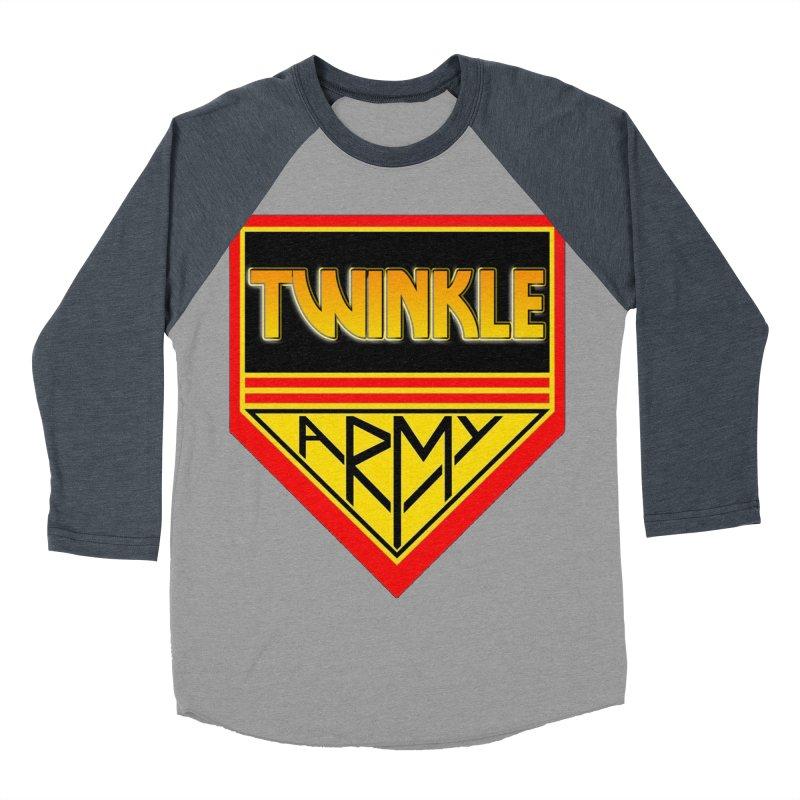 Twinkle Army Men's Baseball Triblend T-Shirt by Twinkle's Artist Shop
