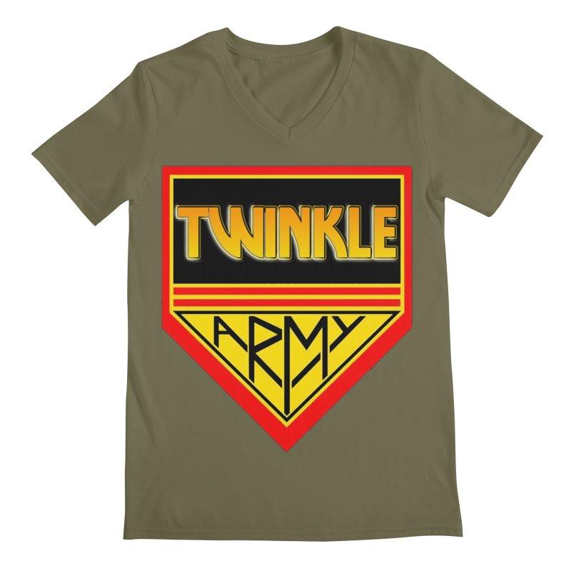 Twinkle Army Men's V-Neck by Twinkle's Artist Shop