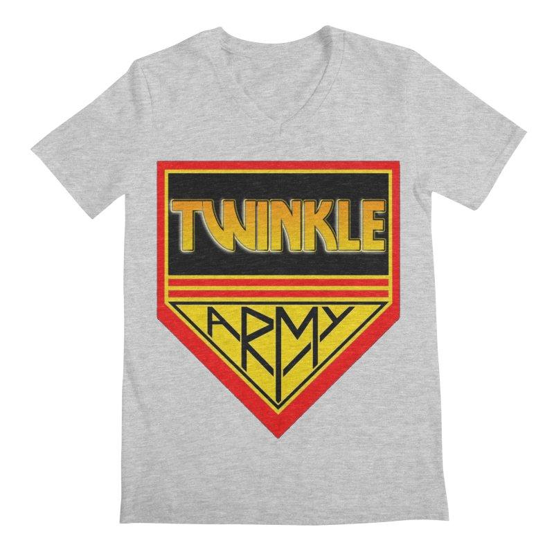 Twinkle Army Men's Regular V-Neck by Twinkle's Artist Shop