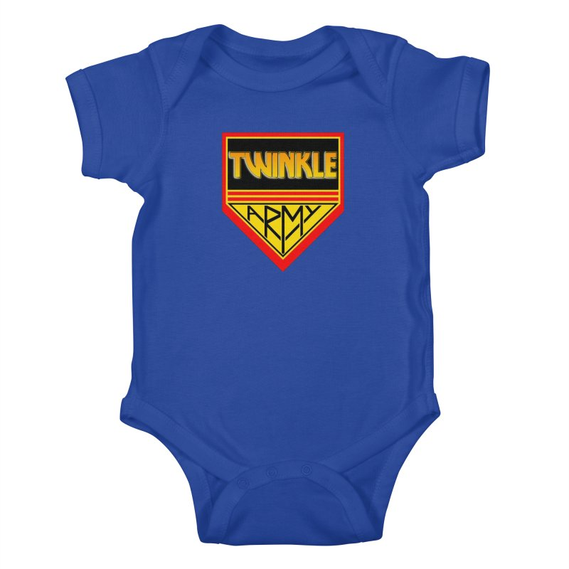 Twinkle Army Kids Baby Bodysuit by Twinkle's Artist Shop