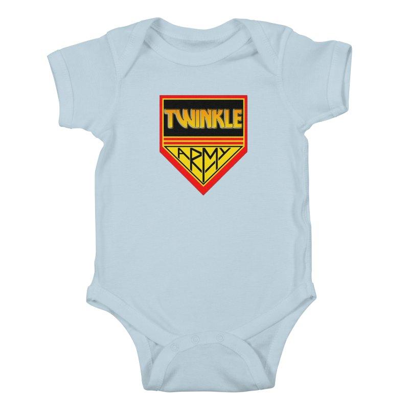 Twinkle Army Kids Baby Bodysuit by Twinkle's Artist Shop
