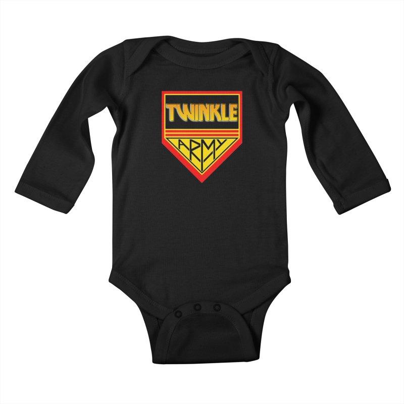 Twinkle Army Kids Baby Longsleeve Bodysuit by Twinkle's Artist Shop