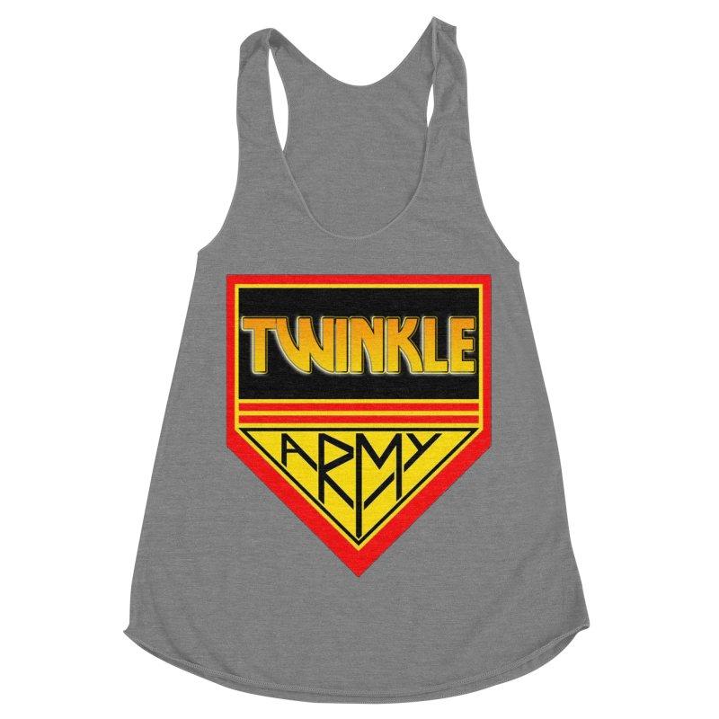 Twinkle Army Women's Racerback Triblend Tank by Twinkle's Artist Shop