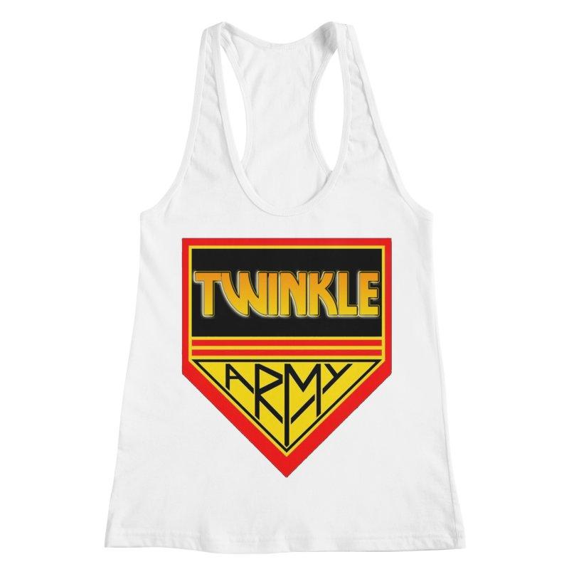 Twinkle Army Women's Racerback Tank by Twinkle's Artist Shop