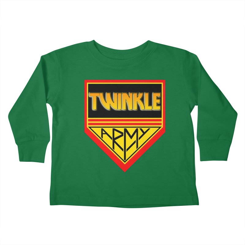 Twinkle Army Kids Toddler Longsleeve T-Shirt by Twinkle's Artist Shop
