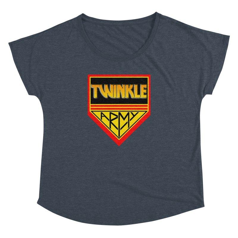 Twinkle Army Women's Dolman Scoop Neck by Twinkle's Artist Shop