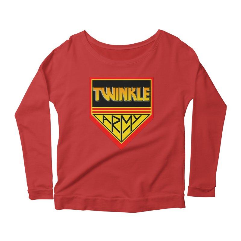Twinkle Army Women's Longsleeve Scoopneck  by Twinkle's Artist Shop