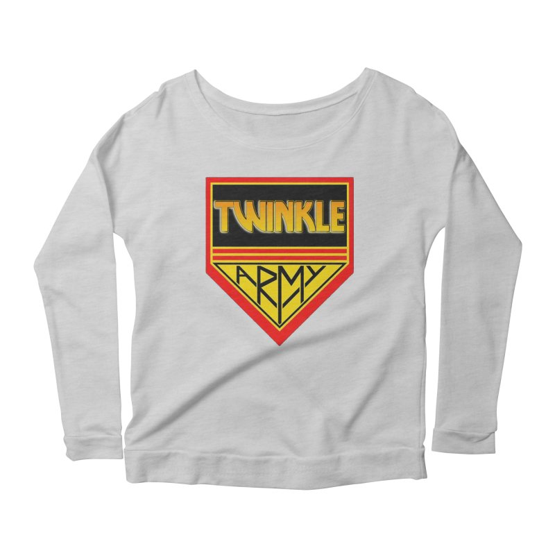 Twinkle Army Women's Scoop Neck Longsleeve T-Shirt by Twinkle's Artist Shop