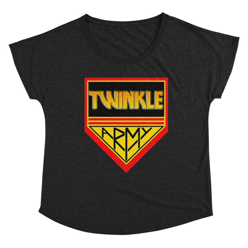Twinkle Army Women's Dolman Scoop Neck by Twinkle's Artist Shop
