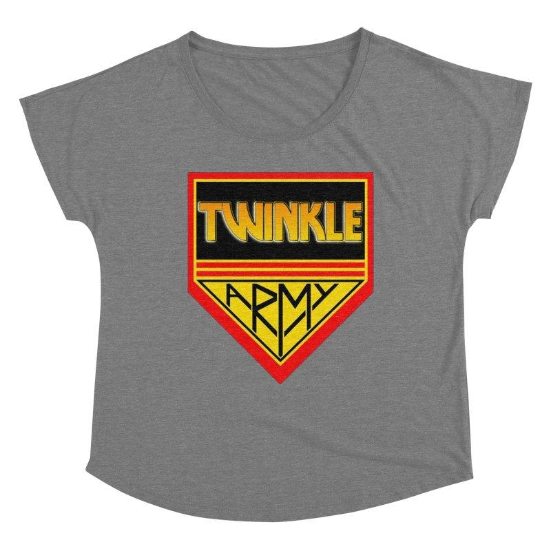 Twinkle Army Women's Scoop Neck by Twinkle's Artist Shop