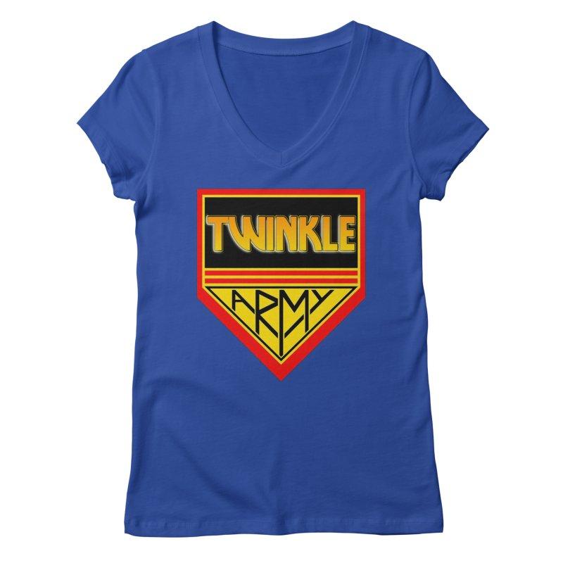 Twinkle Army Women's V-Neck by Twinkle's Artist Shop