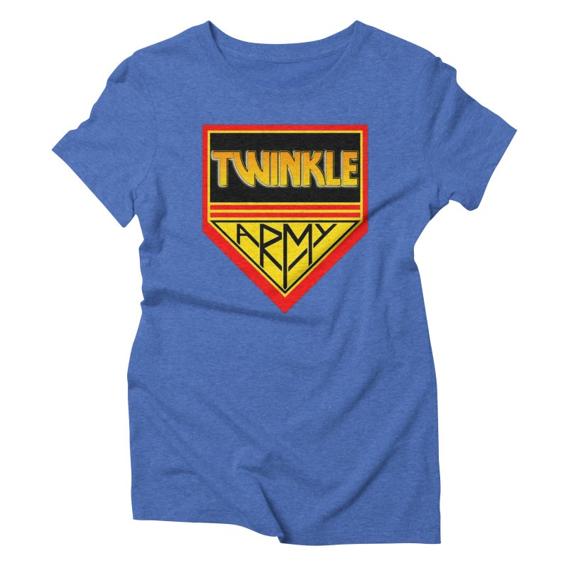 Twinkle Army Women's Triblend T-Shirt by Twinkle's Artist Shop