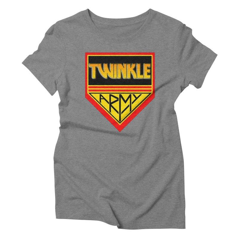 Twinkle Army Women's Triblend T-Shirt by Twinkle's Artist Shop