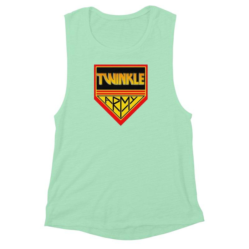 Twinkle Army Women's Muscle Tank by Twinkle's Artist Shop