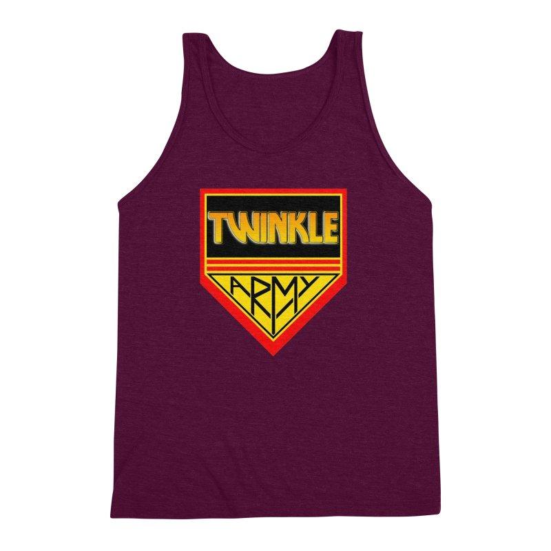 Twinkle Army Men's Triblend Tank by Twinkle's Artist Shop