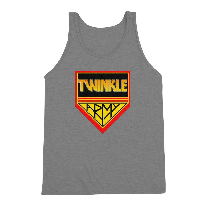 Twinkle Army Men's Triblend Tank by Twinkle's Artist Shop