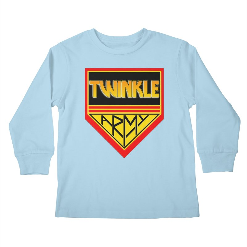 Twinkle Army Kids Longsleeve T-Shirt by Twinkle's Artist Shop