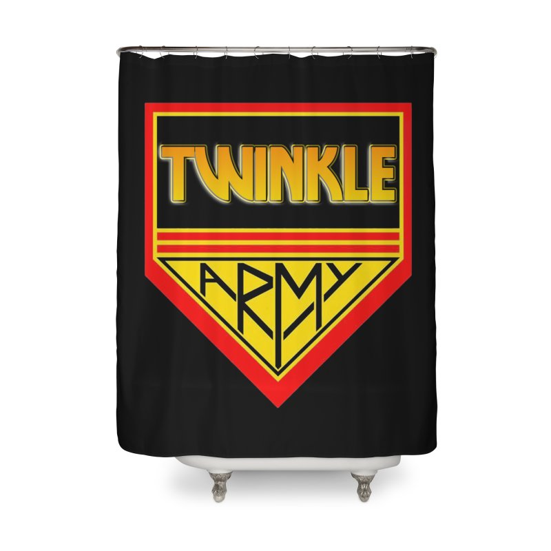 Twinkle Army Home Shower Curtain by Twinkle's Artist Shop