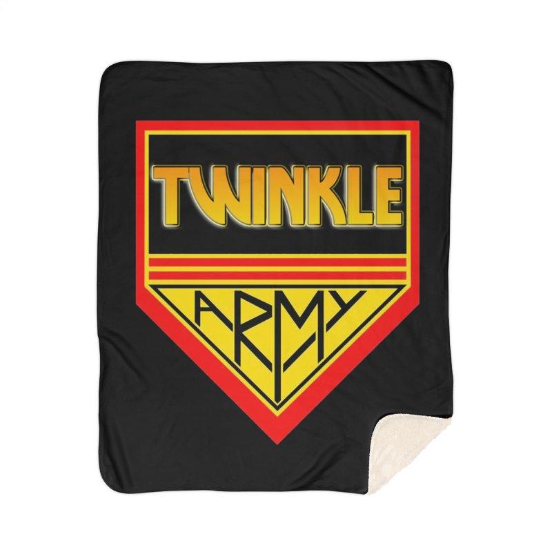 Twinkle Army Home Sherpa Blanket Blanket by Twinkle's Artist Shop