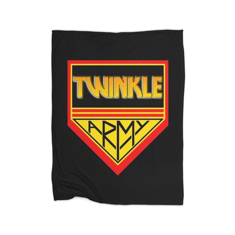 Twinkle Army Home Blanket by Twinkle's Artist Shop