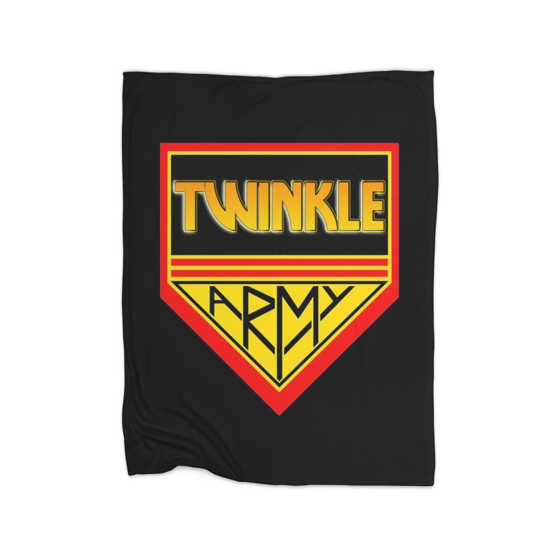 Twinkle Army Home Fleece Blanket Blanket by Twinkle's Artist Shop