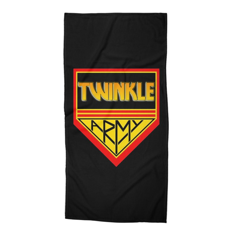 Twinkle Army Accessories Beach Towel by Twinkle's Artist Shop