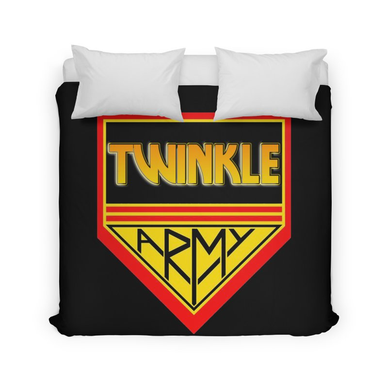 Twinkle Army Home Duvet by Twinkle's Artist Shop