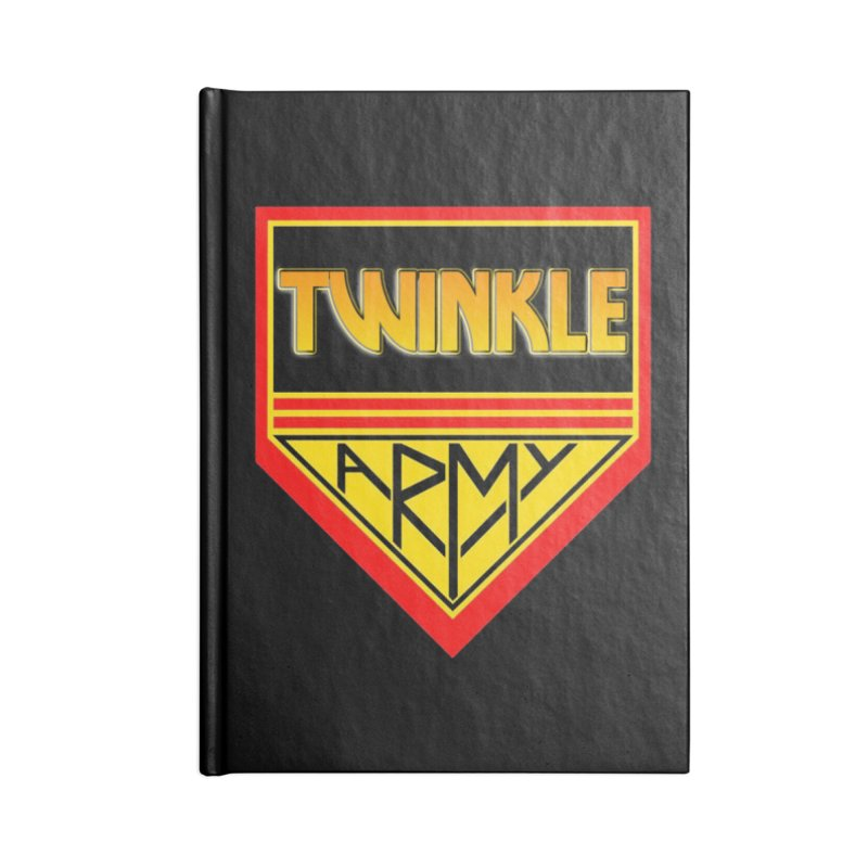 Twinkle Army Accessories Lined Journal Notebook by Twinkle's Artist Shop