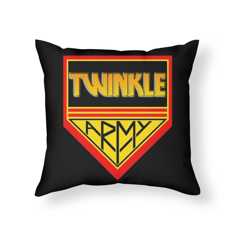 Twinkle Army Home Throw Pillow by Twinkle's Artist Shop
