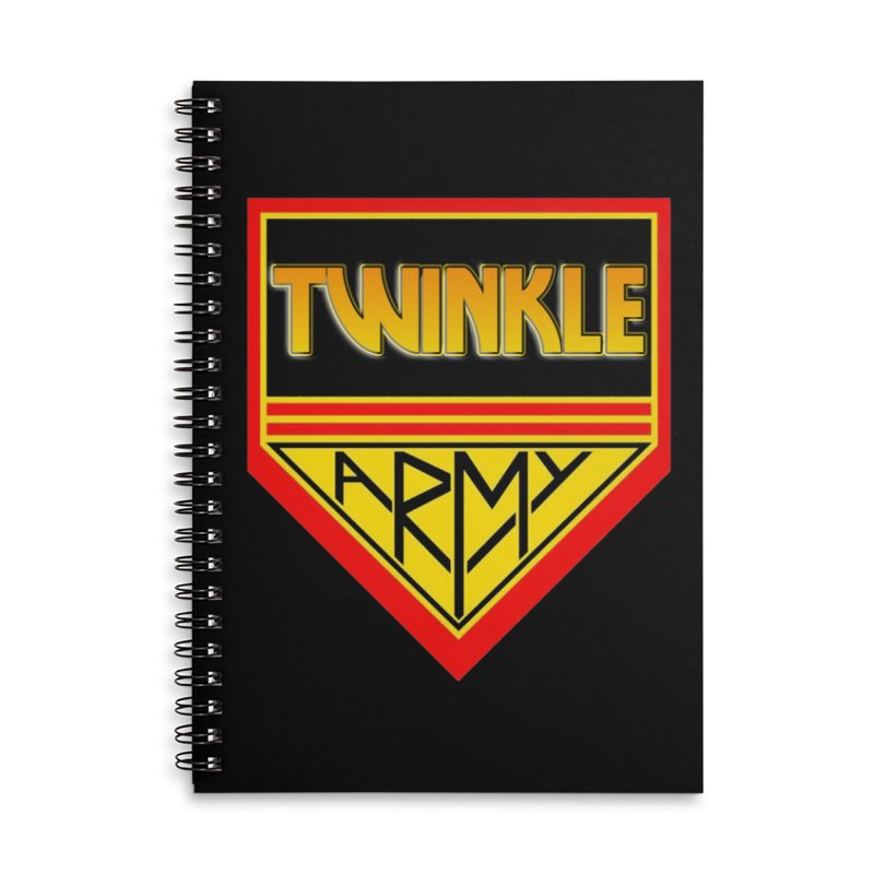Twinkle Army Accessories Lined Spiral Notebook by Twinkle's Artist Shop