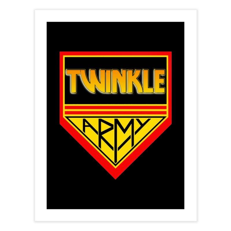 Twinkle Army Home Fine Art Print by Twinkle's Artist Shop