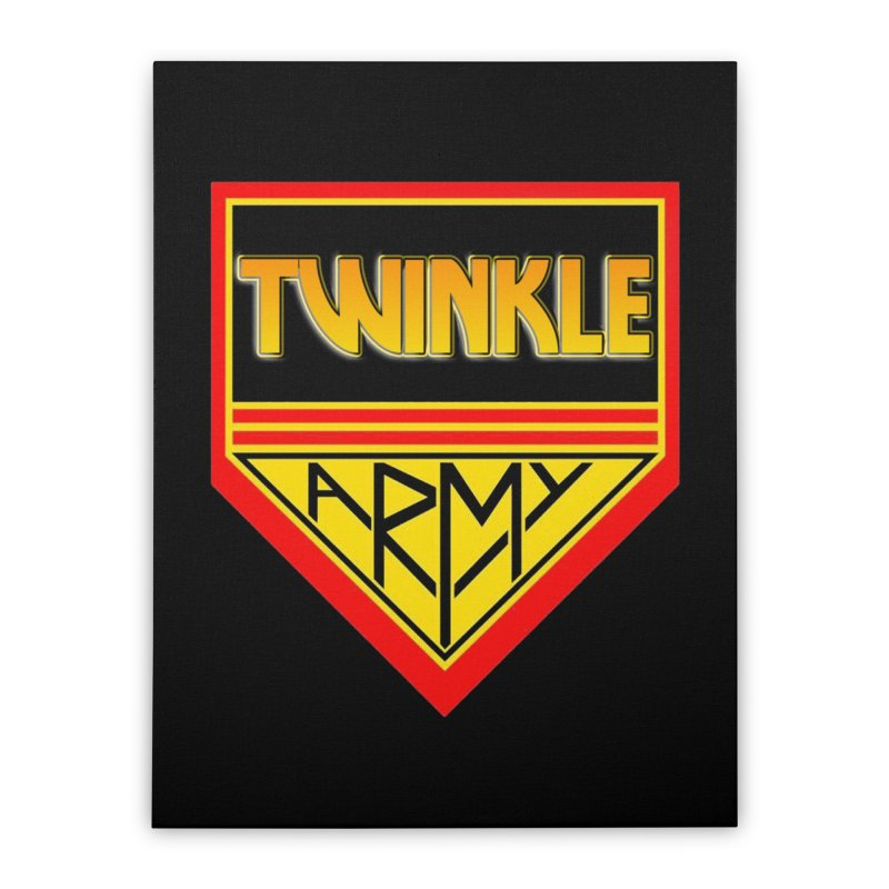 Twinkle Army Home Stretched Canvas by Twinkle's Artist Shop